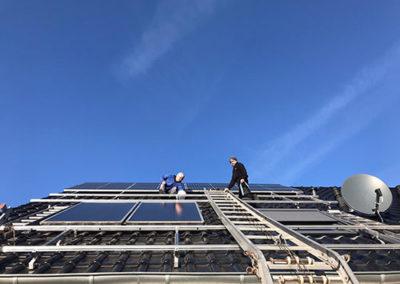 Dachdecker Althaus Solaraufbau