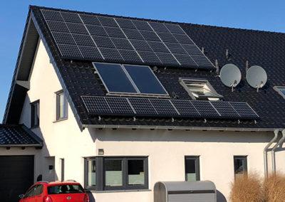 Solaranlage Einfamilienhaus